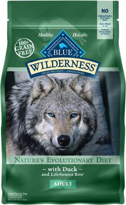 blue buffalo duck flavored dog food